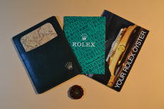 Rolex Oyster Manual, Card holder, Seal