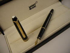 Montblanc Meisterstuck fountain pen.