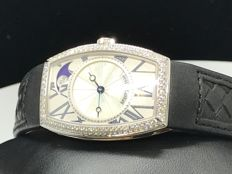 Breguet - Heritage 18K white gold with diamonds ladies watch - Automatic movement Tonneau shape - Women - 2011-present