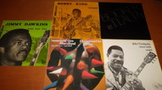 6 great and rare Blues albums from 6 different Blues-artists!
