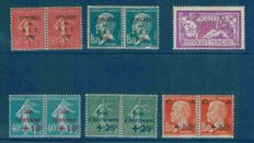 France 1930 - Selection of semi-modern stamps