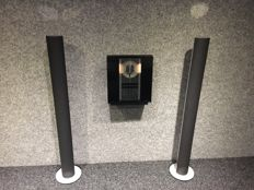 Bang and Olufsen - Beosound 3000 with wall bracket + 2x Beolab 6000 in Silver/Grey with new fronts