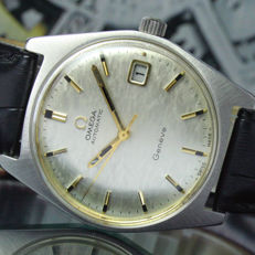 Omega Geneve Automatic Quick Date Steel Watch