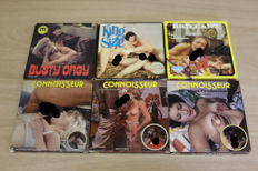 Super 8; Lot of 6 vintage porn movies - 1970/1980's