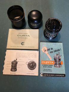 Curta type II calculating machine
