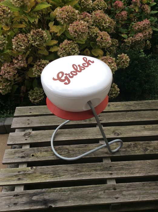 The famous Grolsch table shaped like a flip-top cap - second half of the 20th century - The Netherlands
