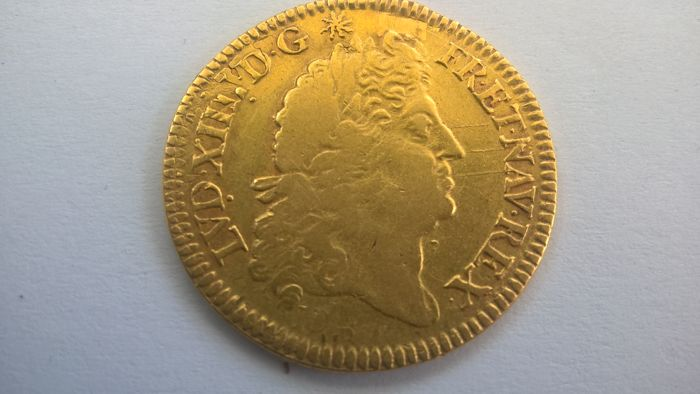 France - Louis XIV (1643-1715) - Louis d'or à l'écu 1690 A (Paris) - gold