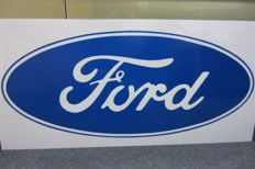 Original Ford dealership sign manufacturing year 1970