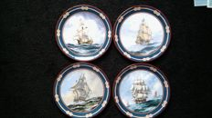 Ship plates Collection by Royal Doulton
