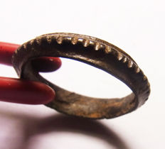 "Viking bronze RING ""RARE TYPE"" 17.9 mm"
