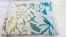 Italy 1990 Missoni Jacquard Vintage New beach towel 100% absorbent terry cotton