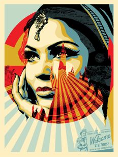 Shepard Fairey (OBEY) - Target exeptions