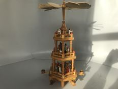 Wooden Rotating Carousel (Weinachts Pyramid)