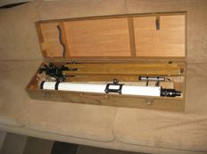 Polarex 60/900 astronomical refracting telescope - Japan - circa 1970