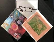 Bad Company/ Thin Lizzy/ King Crimson - lot of 3 albums
