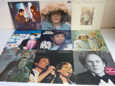 Mixed Rock Lot with 9 Simon and Garfunkel albums. All their single and duo  hits are present