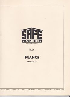 France 1849/37 - a collection on Safe album