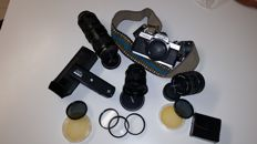 MINOLTA XG2 + lenses + accessories