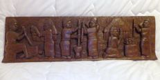Colonial Wood Carving Sculpture (Belgian colonial) - Ca 1910