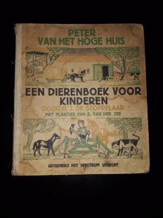 Picture books; Lot with 6 Dutch animal books - 1930s / 1970s