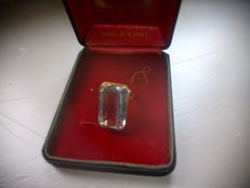 Gold and tourmaline ring total weight