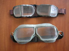 Original Russian( СССР/USSR ) Old glasses of the pilot. Two couples. Air Force.