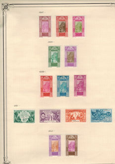 Former French Colonies - Collection of stamps including Gabon and Guinea