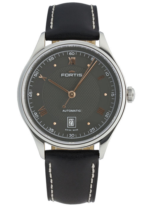 Fortis - Terrestis 19Fortis p.m. Date Automatic - 902.20.21 L.01 - men's - 2011-today