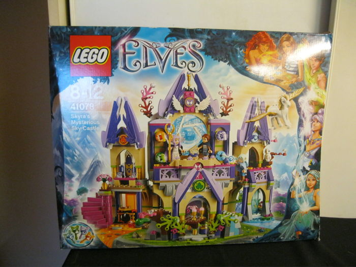CLEARANCE Instructions Only Lego Elves Farran and the Crystal Hollow 41076