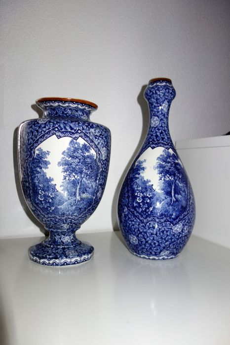 Villeroy And Boch Two Vases Flamant Catawiki
