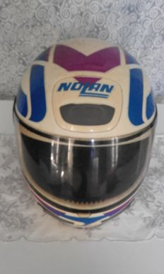 1980s Vintage collectible Full face Nolan helmet