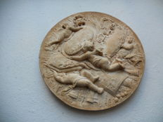 Old medallion after Franz Joseph Sohn - style of the 18th century