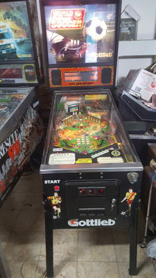 Pinball machine - World Challenge Soccer - Gottlieb