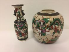 Nanking earthenware - China - 1st half 20th century