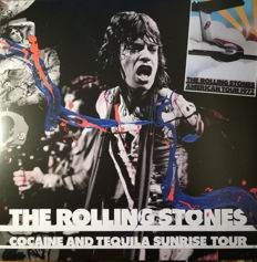 The Rolling Stones ‎– Lot of 3 great L.P.s in concert-