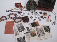 Various devotional items from various time periods and countries