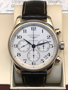 Longines - master collection chronograph - L.696.2 - Men - 2011-present