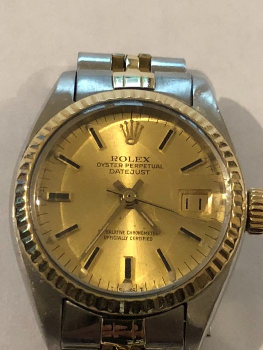 61a925f5bb6 Rolex Oyster Perpetual datejust Ladies 1978 - Catawiki