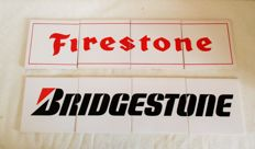 2 tile panels from Bridgestone and Firestone