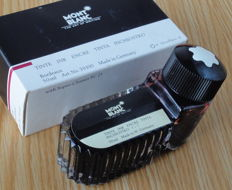 Montblanc original Inkwell of Bordeaux ink for fountain pen