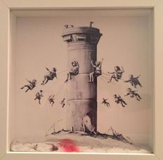 Banksy - The Walled off Hotel - Box Set & Extras