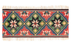 Woven wall decoration/kilim from Sweden, 135 x 58 cm