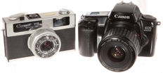 Canon EOS 1000F + Canon Canonet 28 beautiful!