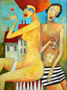 Miroslaw Hajnos - Red wine