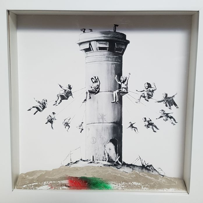 Banksy - Box Set and extras from The Walled Off Hotel