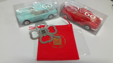Alfa Romeo Gadget wax model car Italian Register Celebration + Gadget car plate Registro Italiano Alfa Romeo