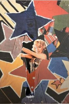 Mimmo Rotella - Marilyn Monroe, décollage
