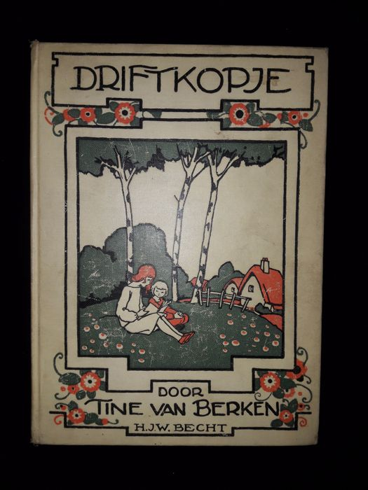 Tine van Berken; Lot of 7 illustrated children's books - 1900/1950