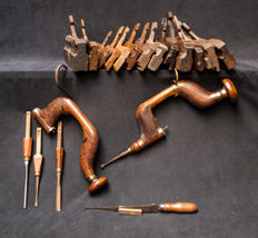20 Dutch woodworking tools from before 1900
