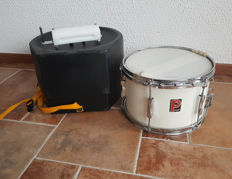 "Vintage Premier 12"" x 8,5"" marching Snare drum + sound block - good condition"